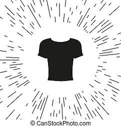 Illustration of wear thin line icon design vector