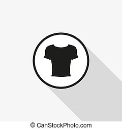 Illustration of wear thin line icon design