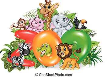 Illustration of Word zoo