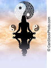 Yin Yang - illustration of Yin Yang