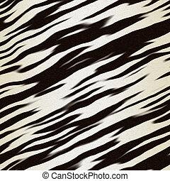 zebra hide - illustration of zebra hide for use as...