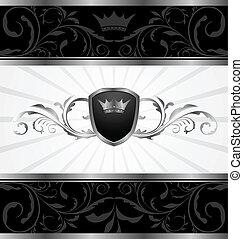 ornate dark decorative frame