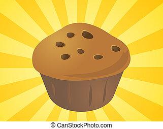 illustration, petit gâteau