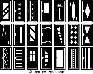 illustration, portes