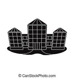 illustration., pueblo, objeto, vector, símbolo., venta al por menor, aislado, acción, colección, tienda