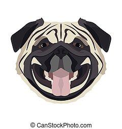 Illustration Pug