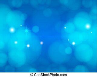 illustration., résumé, élégant, bleu, clair, arrière-plan., scintillement