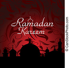 ramazan celebration background - Illustration ramazan...