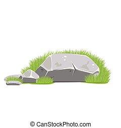 illustration. Rocks