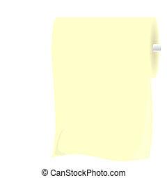 Illustration roll toliet paper - vector