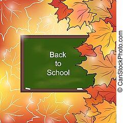 Autumn Bright Background