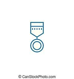 illustration., señal, concept., resultados, triunfante,...