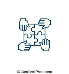 illustration., señal, concept., símbolo, vector, común,...