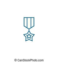 illustration., señal, concept., triunfante, símbolo, vector,...