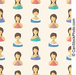 Seamless Pattern Avatars