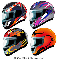set send racing red insulated on white background -...