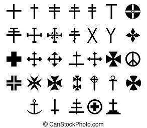 33 cross symbols