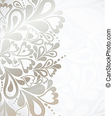 Illustration silver background for design