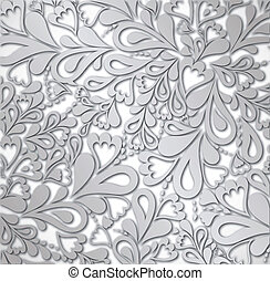 Illustration silver Retro Vintage. Vector - Illustration the...