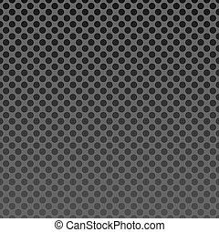 Illustration steel mesh background seamless - vector