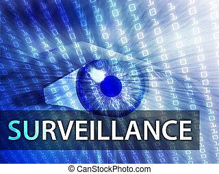 illustration, surveillance