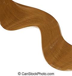 illustration., val, hår, vektor, bakgrund, din, bäst, design...