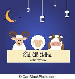 Eid Al Adha - Illustration vector design of Eid Al Adha ...