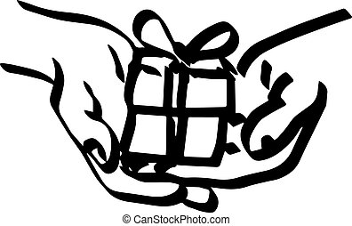 illustration vector doodle hand drawn of sketch hand of...