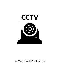 Illustration Vector graphic of cctv icon template
