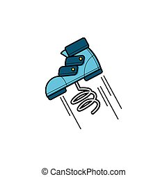 jumping shoe
