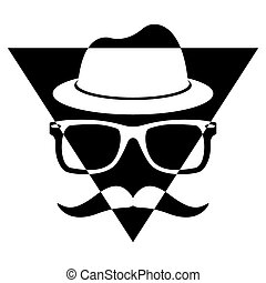 Illustration Vector Graphic Triangle Hipster for different...