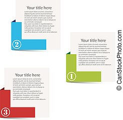 Illustration vector number tags