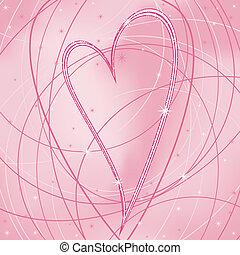 illustration with the Valentine de