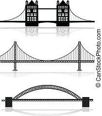 illustrationen, brücke