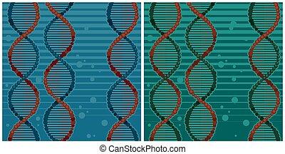 illustrationen, doppelgänger, dns, spirale