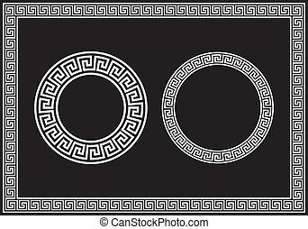 Greek Key - Illustrations of the Greek Key