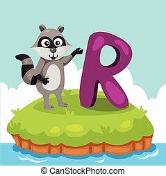 Illustrator of Letter R