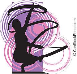 illustrazione, ballo