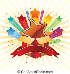 illustrazione, celebrazione, vettore