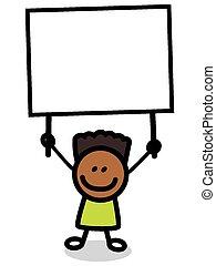 Ufficio Postale Illustrazione Cartone Animato Vettore Di