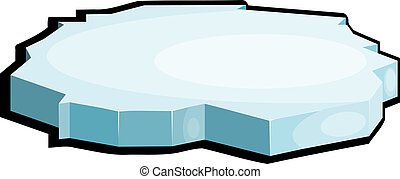 illustrazione, di, ice., eps10