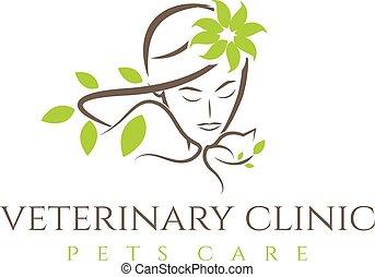 Grafico veterinario cane veterinario o simbolo for Piani casa com classico cane trotto stile