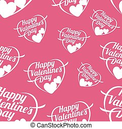 illustrazione, valentina, s, vettore, ard, giorno, felice