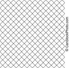 illustrazione, vettore, di, acciaio, protezioni in rete, seamless, fondo.