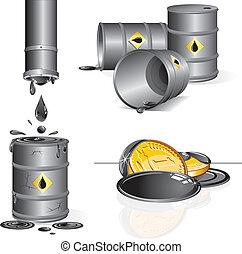 illustrazioni, industria