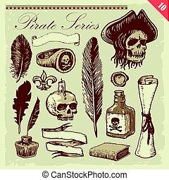 illustrazioni, pirata