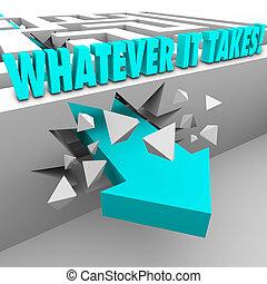 illustrer, mur, il, quoi, par, mesure, besoin, ton, prend, rupture, n'importe quel, autre, prendre, au-dessus, labyrinthe, réaliser, portée, mots, but, carrière, défi, liberté, flèche, vie, ou