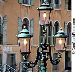 iluminación calle