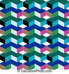 ilusão óptica, 3d
