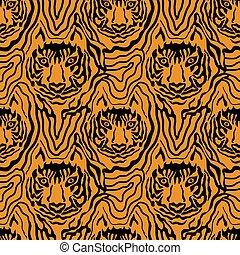ilusão óptica, animal, print.